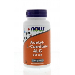 Acetyl L-Carnitine 500 mg - 50 caps