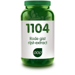 Rode gist rijst-extract 600mg - 90 caps