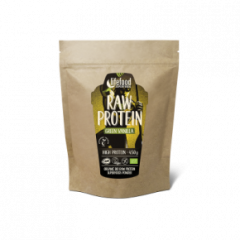Raw protein green vanilla - 450 g
