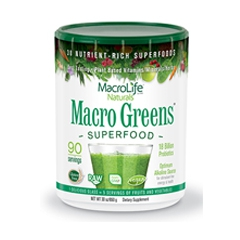 Macro Greens poeder - 90 servings