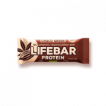 Life bar green protein choco - 15 repen