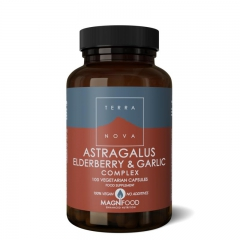 Astragalus Elderberry Garlic extract - 100 caps